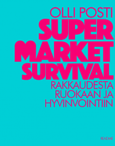 Supermarket Survival -kirja - kansi